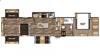 2018 Chaparral 381RD