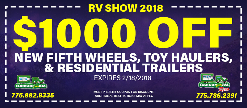 $1000 RV Show Coupon