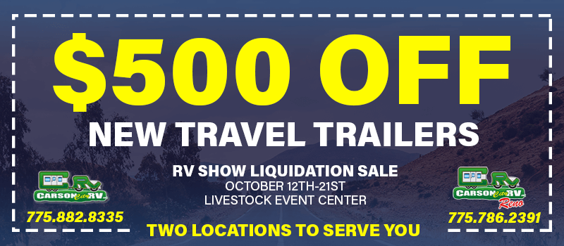 RV Show $500 Coupon