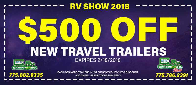 $500 RV Show Coupon